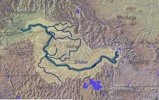 Filesnake River Mapjpg Wikimedia Commons - Us-map-snake-river