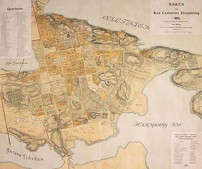 karta folkungagatan Gator och tpå Södermalm – Wikipedia karta folkungagatan