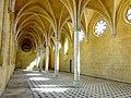 Soissons (02), abbaye Saint-Jean-des-Vignes, réfectoire, vue diagonale vers le nord-est.jpg