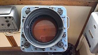 Kelvin Hughes - Kelvin Hughes Type 14/9 Radar from front