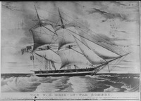 Somers, starboard side, under sail, 1842 - NARA - 512981.tif
