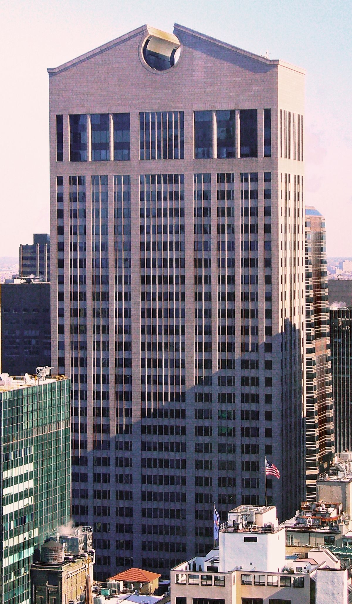 Architectural Gem In Downtown Madison >> 550 Madison Avenue Wikipedia