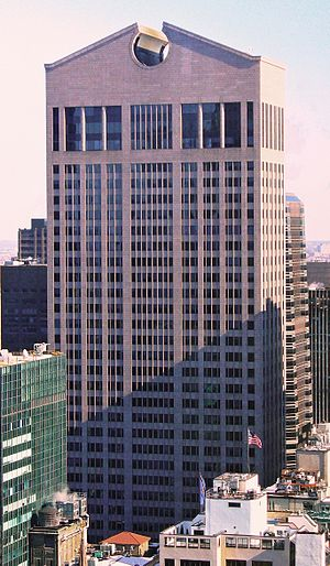John Burgee - Image: Sony Building by David Shankbone crop