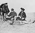 Soule, Will - Von Indianern skalpierter Jäger nahe Fort Dodge, Kansas (Zeno Fotografie).jpg