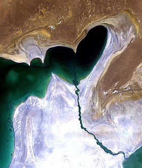 South Aral Sea, Landsat 20100724.jpg