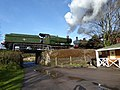 South Devon Railway - locomotives at Buckfastleigh (geograph 4892728).jpg