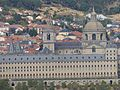 South facade of the Monastery of San Lorenzo de El Escorial, Madrid, España, 2016 02.jpg