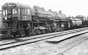 Southern Pacific class MC-4 - Image: Southern Pacific cab forward mallet locomotive 4030