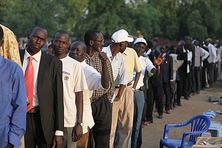 South Sudanese independence referendum, 2011 Southern Sudan Referendum1.jpg