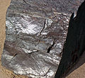 Specularite (high-grade iron ore) (Soudan Iron-Formation, Neoarchean, ~2.69 Ga; Soudan Mine, Soudan, Minnesota, USA) 6 (19031978705).jpg