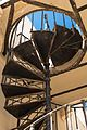 Spiral staircase in an abandoned house in Faro's Old Town (29050845131).jpg