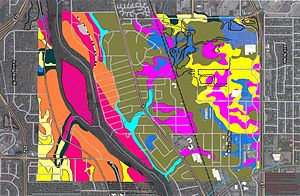 Anoka County, Minnesota - Soils of Springbrook Nature Center area