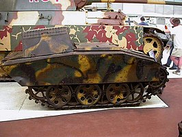 Mittlerer Ladungsträger Springer in The Tank Museum, Bovington (VK)