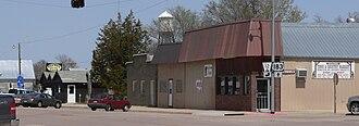 Springview, Nebraska - Downtown Springview: east side of Main Street