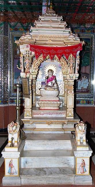 Rajendrasuri - Shrine dedicated to Rajendrasuri at Santhu