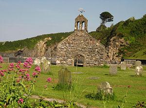 Cwm-yr-Eglwys - Image: St.Brynach's Church