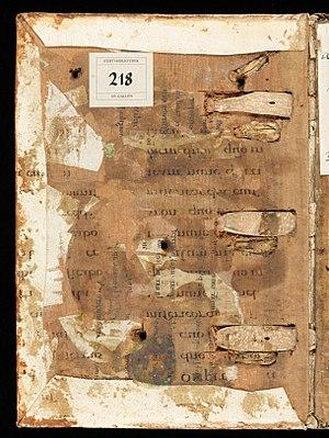 Fragmentarium - Image: St. Gallen, Stiftsbibliothek St. Gallen, Cod. Sang. 1397 V – Psalterium Gallicanum