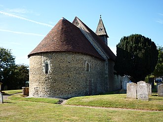 Church of Saint Leonard, Bengeo - Image: St. Leonards Bengeo 2