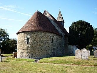 St Leonard's Church, Bengeo - Image: St. Leonards Bengeo 2