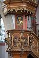 St. Margareta Brühl, Kanzelkorb und Baldachin.jpg