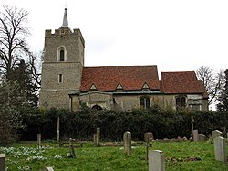 St. Mary's Church - Aspenden, Hertfordshire - geograph.org.uk - 129433.jpg
