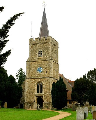 Hertingfordbury - St. Mary's Church, Hertingfordbury