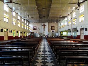 St. Michael's Church, Mumbai - Interior of St. Michael's Church, Mahim (Mumbai, India)