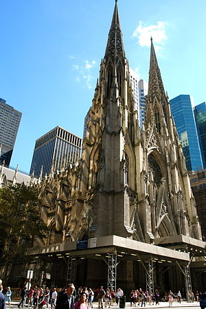 Irish Americans in New York City - St. Patrick's Cathedral, New York