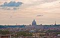 St. Peter's, Rome, from Villa Borghese, Sept. 2011 - Flickr - PhillipC.jpg