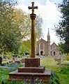 St Andrew's Church, Ham - view from War Memorial.jpg