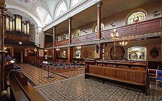 St Botolph's, Aldersgate - Interior of the church