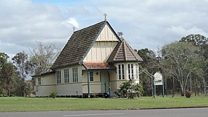 Rosedale, Queensland - St John's Anglican Church, 2016