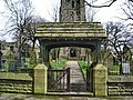 St John the Evangelist Church, Worsthorne, Lych gate - geograph.org.uk - 770596.jpg