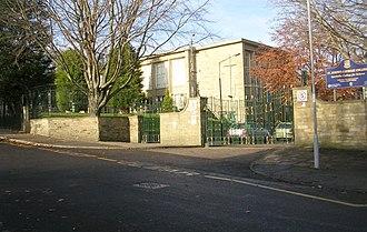 St Joseph's Catholic College, Bradford - Image: St Joseph's College Cunliffe Road geograph.org.uk 1050087