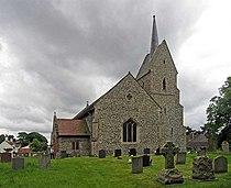 St Leonard's Church, Mundford, Norfolk - geograph.org.uk - 822780.jpg