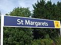 St Margarets stn (Middlesex) signage 2012.JPG