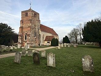 Lawford - Image: St Mary's Church, Lawford