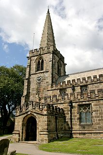 St Michael and All Angels Church, Hathersage Church in Hathersage, England