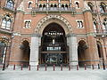 St Pancras International station and St Pancras Hotel exterior 2012 01.JPG