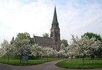 St Peter's Church, Edensor, Chatsworth Estate - geograph.org.uk - 914382.jpg
