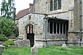 St Peter and St Paul, Dorchester, Oxon - Porch - geograph.org.uk - 1622921.jpg