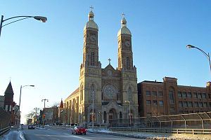Polish Cathedral style - St. Stanislaus Catholic Church, Milwaukee, Wisconsin