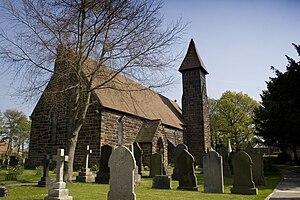 Partington - Image: St marys church partington greater manchester