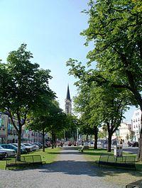 Stadtplatz von Plattling, Juli 2010.JPG