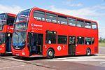 "Stagecoach East London bus 19000 ""Spirit of London"" (LX55 HGC), 2012 North Weald bus rally.jpg"