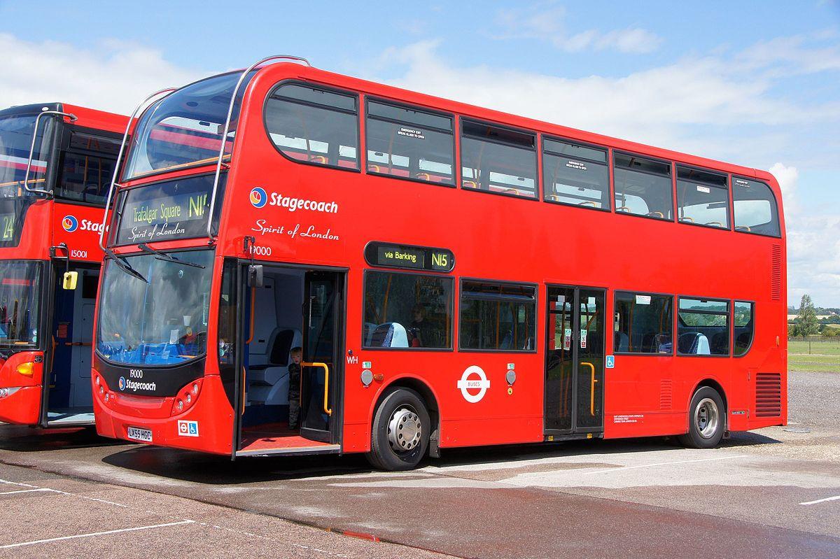 East London Bus 18500  19000  U0026quot Spirit Of London U0026quot   Lx55 Hgc