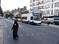 Stagecoach Events ( Manchester ) staff transport bus. Upper Clapton E5. (7735282058).jpg