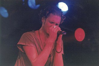 Layne Staley - Staley on stage in 1992