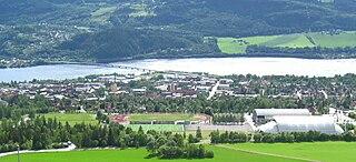 Stampesletta Stadium complex in Lillehammer, Norway