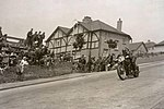 Stanley Woods descends Bray Hill during the 1935 TT Races..jpg
